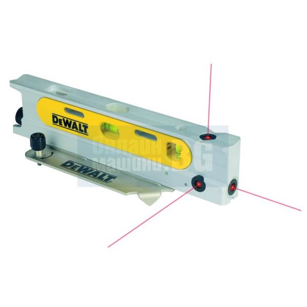 3 лъчев лазерен нивелир DeWALT DW099P
