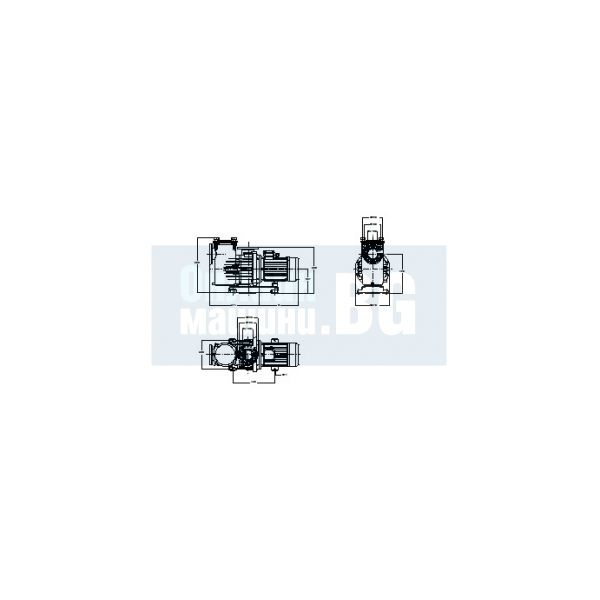 Центробежна помпа за басейн с висок дебит DAB EUROPRO 1500 T / 11000 W , 24 м /