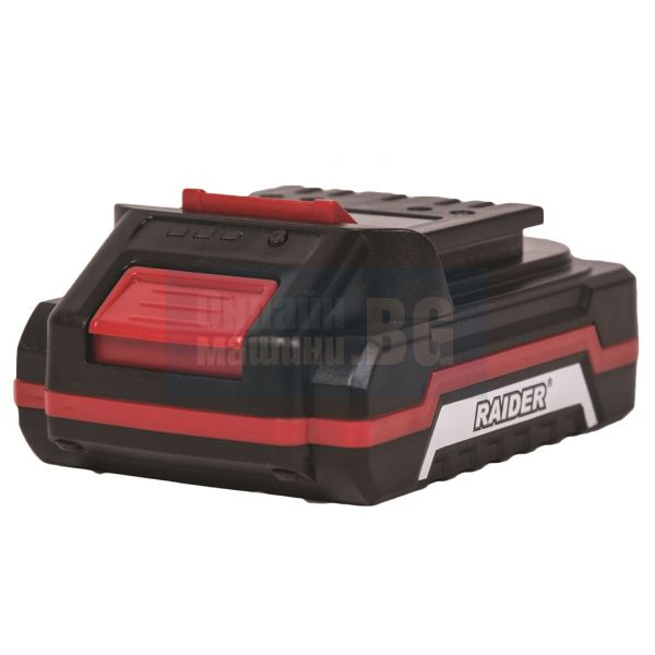 Батерия за акум.градински машини Raider Li-Ion 18 V / 1,5 Ah, за моделите RD-GTL22 RD-HTL04 RD-CBL04/