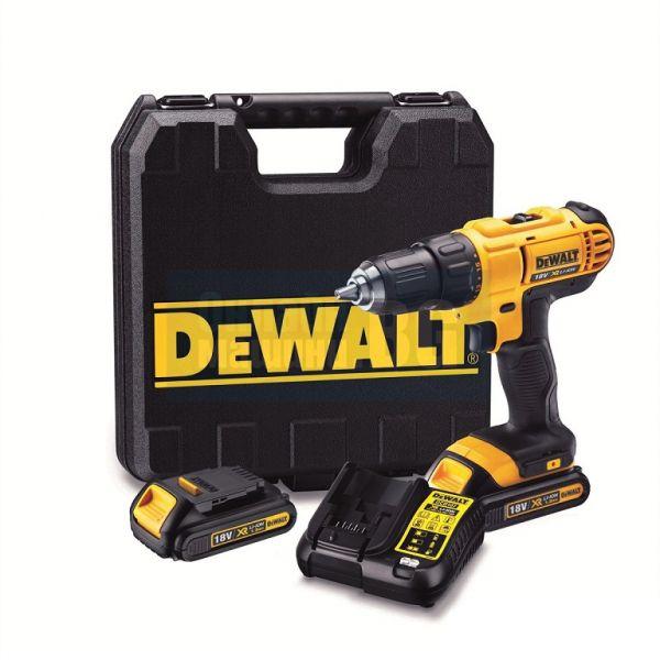 Акумулаторен винтоверт DeWalt DCD771C2 18V в куфар