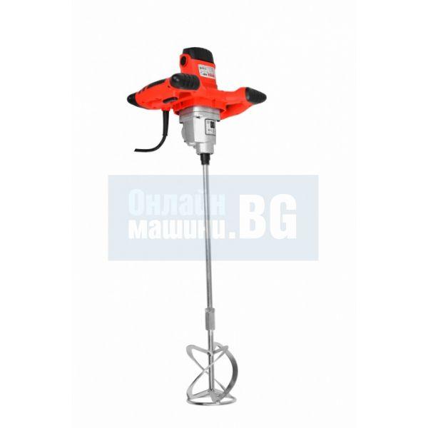 Бъркалка за строителни материали Hecht 1137, 2 скорости  / 1400 W , 0 - 570/ 0-760 об./мин /