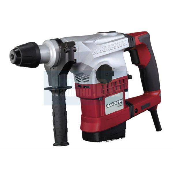 Професионален Перфоратор / Къртач  RAIDER RDP-HD31 /1100W, 30mm, SDS-plus регулиране на оборотите/