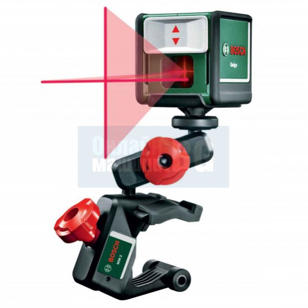 Лазерен нивелир с кръстосани линии Bosch Quigo II / ± 0,8 mm/m , 10 м /