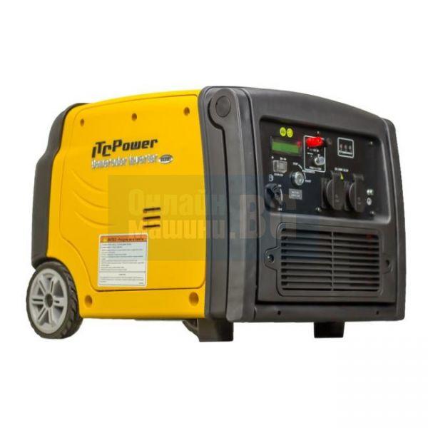 Инверторен дигитален обезшумен генератор ITC Power GG 35Еi Pro / 4,4 HP , 13,2 A /