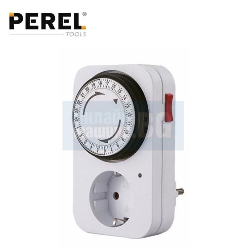 Контакт с таймер 24 часов PEREL E305D3-G