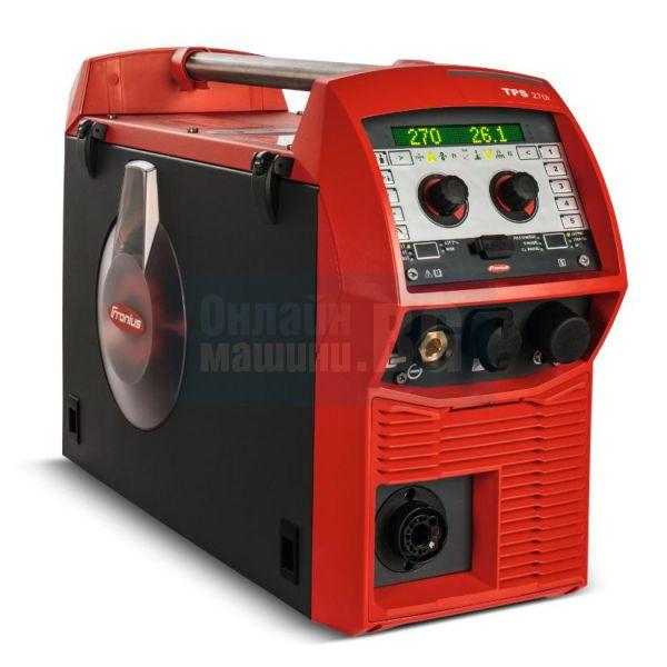 Инверторен MIG/MAG телоподаващ апарат Fronius TPS 270i C Pulse /4R/FSC   / 270 А /