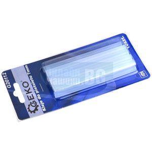 Силиконови пръчки Geko G20112 /прозрачни, 7 мм , 10 бр /