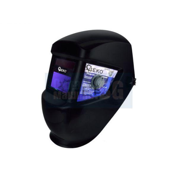 Фотосоларен шлем GEKO BLACK DIN 9-13