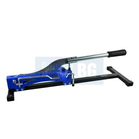Машина гилотина за рязане плоскости/ ламинат и винил GEKO 30130 /210 мм., 10 мм./