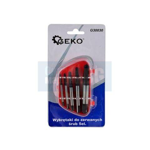 Комплект шпилковадачи/ екстрактор GEKO G30030 /5 бр./