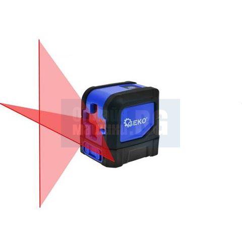 Самонивелиращ се 2 линеен лазерен нивелир GEKO G03300 / 20 м., 0.3 мм/1 м. /