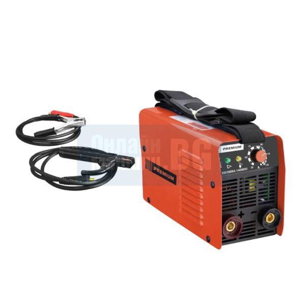 Инверторен електрожен Premium Mini, 6 kVA, 140 А, ф 3.25 мм