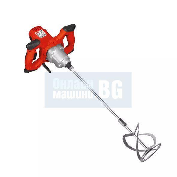 Бъркалка за строителни материали Hecht 1138, 2 скорости / 1600 W, 0-580/ 0-780 об./мин. /