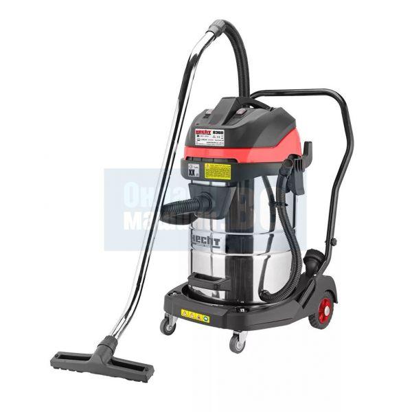 Професионална прахосмукачка за мокро и сухо почистване HECHT 8360  / 2000 W, 60 л, двумоторна /