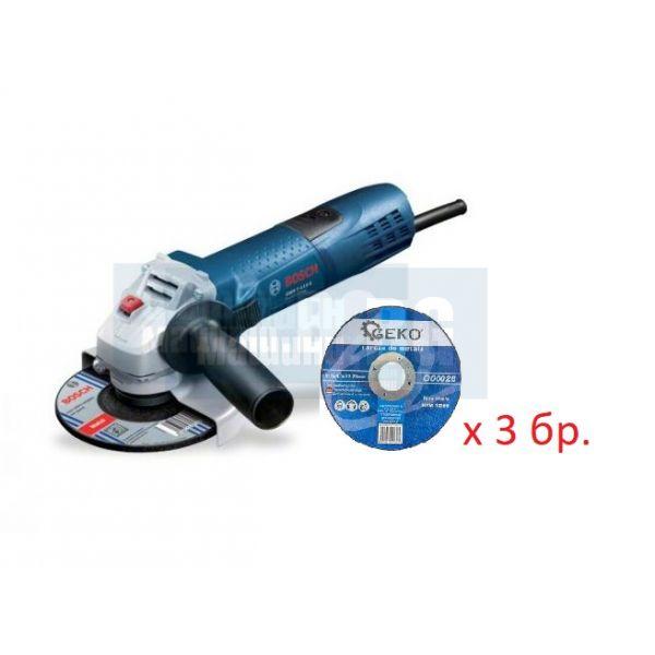 Ъглошлайф Bosch GWS 7-115 E / 720 W 115 mm /, регулиране на оборотите