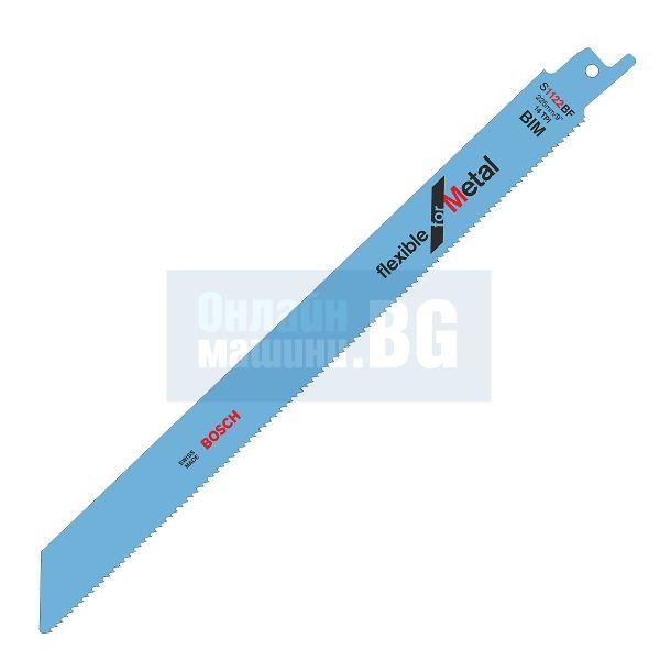 Bosch S 1122 BF, Нож за ел.ножовка за метал 0.9x 225/205 мм, S1122BF BiM