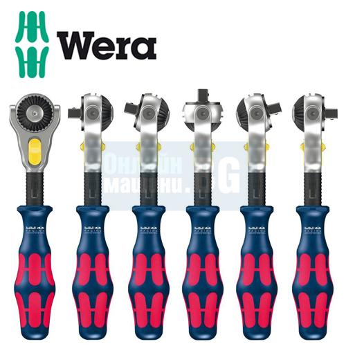 Комплект тресчотка с вложки и накрайници Wera Red Bull Racing/ 28 части/