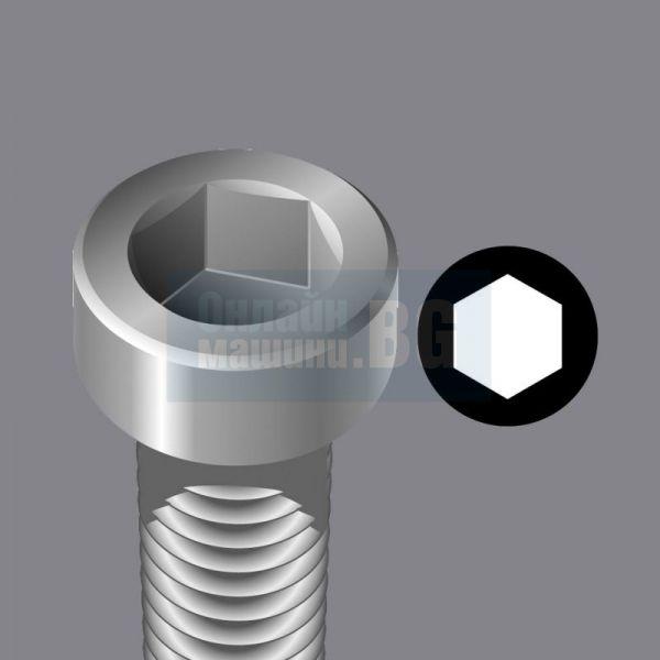 Комплект битове за метал с държач в поставка Wera Red Bull Racing /39 части/