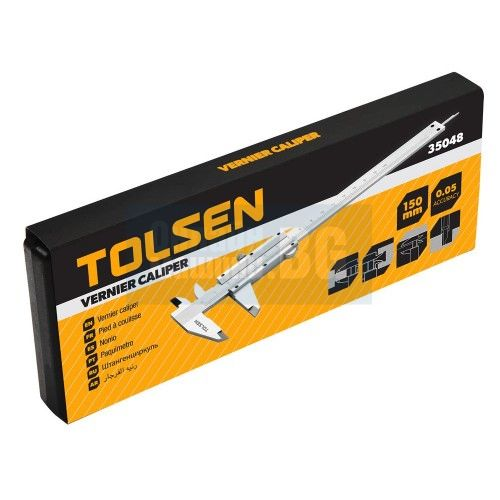 Шублер метален TOOLSEN /150 мм/