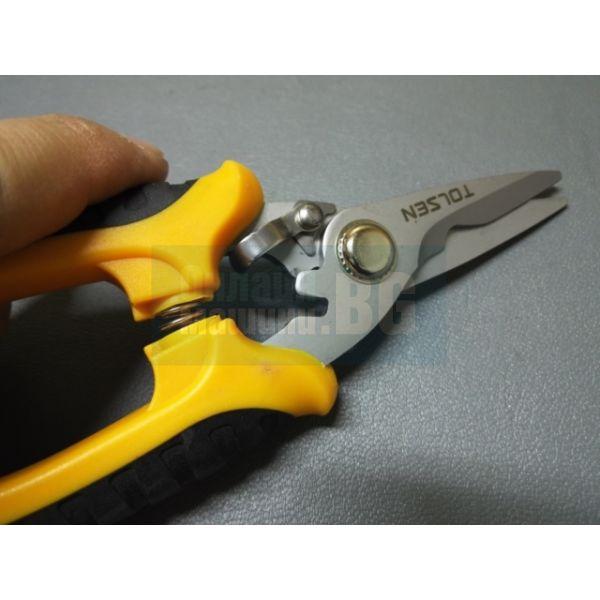 """Универсална ножица TOLSEN /180 мм, 7 """"/"""