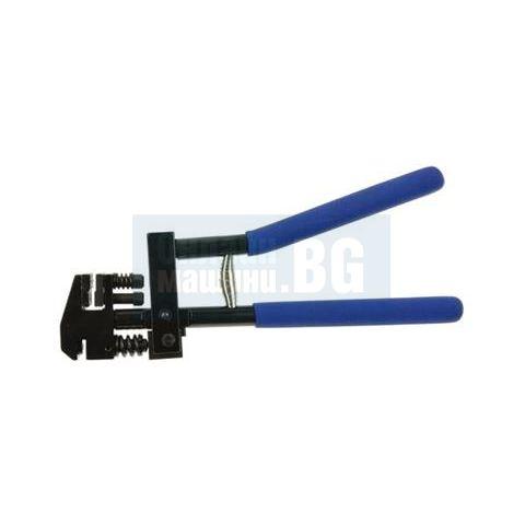 Клещи комбинирани за бертване на ламарина с въртяща глава GEKO G01666 /5x13x22/