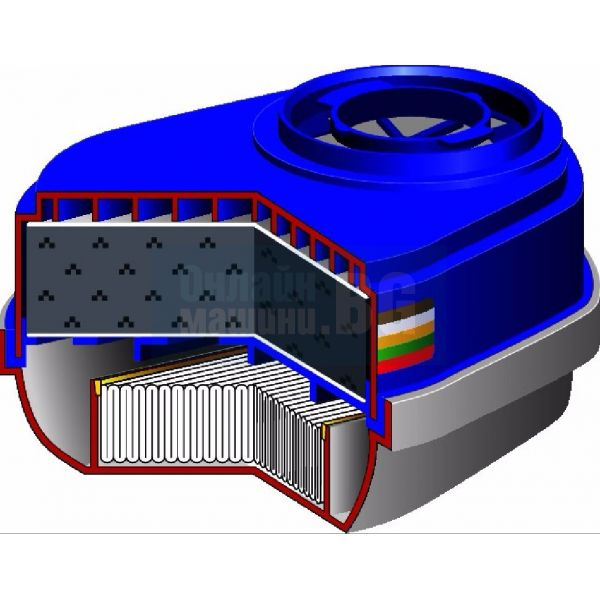 Комбиниран филтър Dräger X-plore® Bayonet Filters A1B1E1K1 Hg P3 2 бр. / 1 чифт /