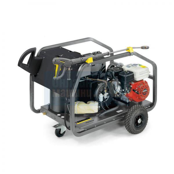 Професионална мобилна бензинова пароструйка Karcher HDS 801 B /с двигател Honda 600 l/h,   140bar,   4,1kg/h/