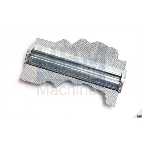 Измервателен профил/шаблон  HBM  3047 /120 mm/