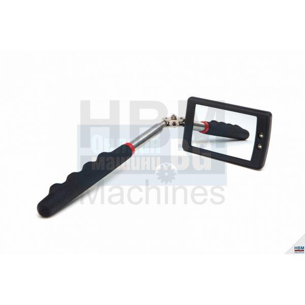 Телескопично огледало с LED осветление HBM  3954 /50 x 80 mm/