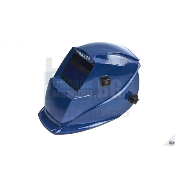 Автоматичен фотосоларен шлем за заваряване Hyundai /DIN 4,   DIN 9 до 13,  UV-IR защита DIN16/