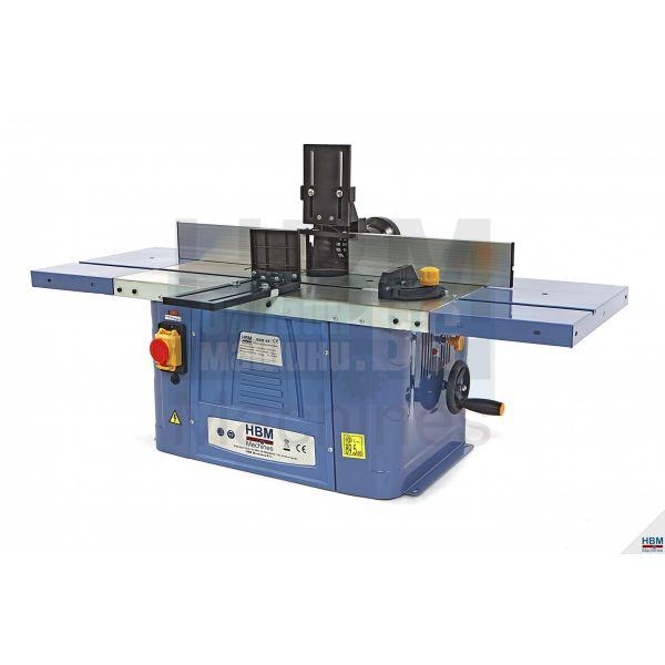 Настолна фреза HBM  3376 40 Wood / 230V,  1500 W,   6 - 6.35 - 8 - 12 и 12.7 мм./