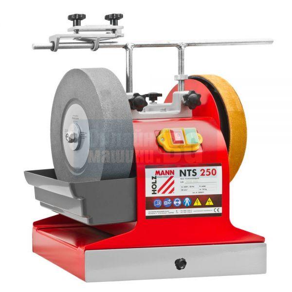 Машина за мокро и сухо заточване Holzmann  NTS 250 /230V, 200 W с дискове 250mm,  200mm /