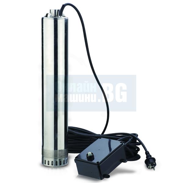 Сондажна потопяема помпа HECHT 3520 / 100мм, 1000W/