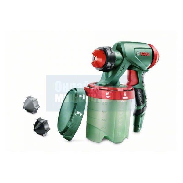 Пистолет за фино пулверизиране за всички видове бои Bosch PFS / със 1000 ml резервоар за боя/