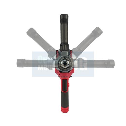 Акумулаторна бъркалка за строителни смеси MILWAUKEE M18FPM-0X / 18 V, 0-550 min-1, в куфар, без батерия и зарядно/