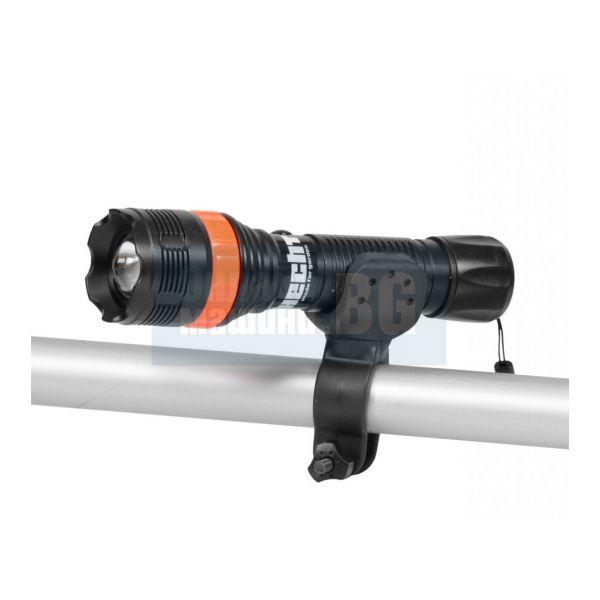 Фенер Hecht 007128 / LED, 3 режима на осветление, за HECHT 7100/