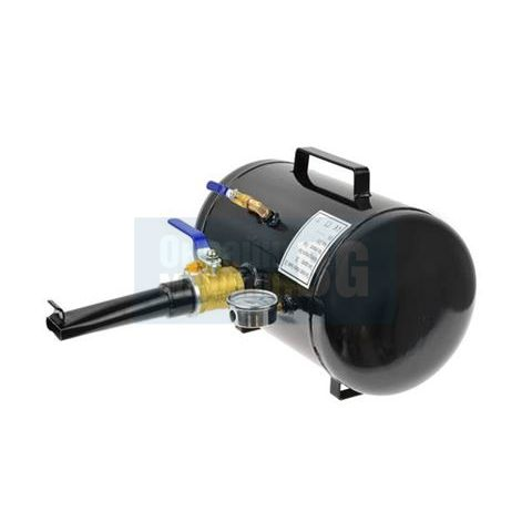 Резервоар за взривно помпане на безкамерни гуми GEKO G80340 / 20 l, 8 bar /