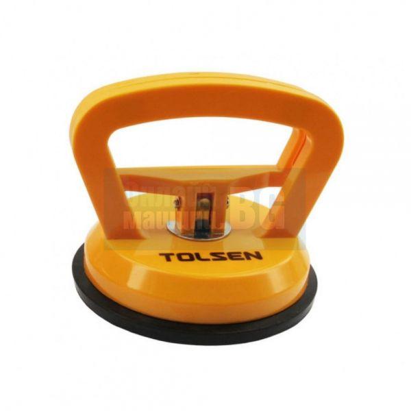 Лапа за стъкло единична Tolsen / 25 kgs115 mm / - 62661