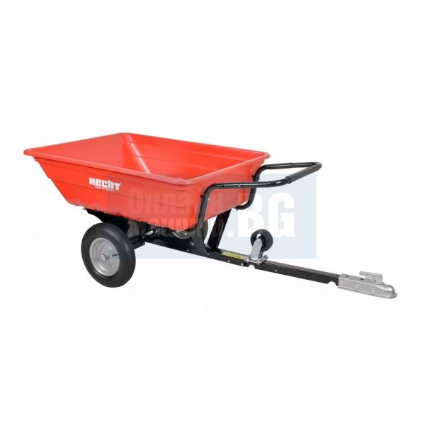 Ремарке HECHT 53080 за трактори и косачки  /300 kg, 150 x 93.5 x 74.5 cm/