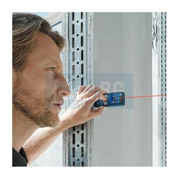 Лазерна ролетка Bosch GLM 500 Professional/ 0.05 – 50 m, ± 1.5 mm,  2в1 360°/