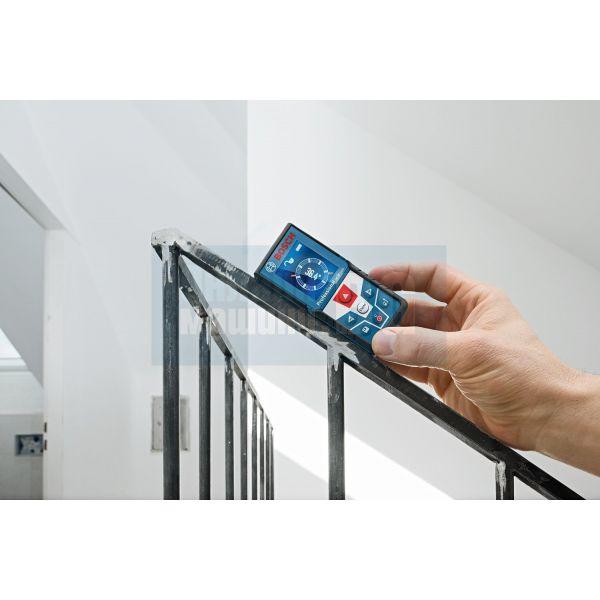 Лазерна ролетка със сензор за наклон Bosch GLM 500 Professional/ 0.05 – 50 m, ± 1.5 mm,  2в1 360°/