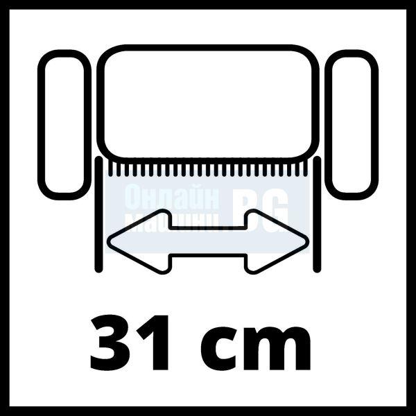 Електрически култиватор-аератор Einhell GC-SA 1231/1 / 1200W,    310 мм,    28 л /