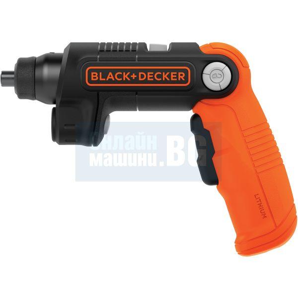 "Акумулаторна отвертка Black&Decker  BDCSFL20C   / 3,6 V,    5.5 Nm,    1/4"",    1.5 Ah /"