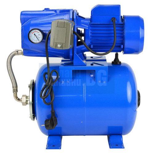 Хидрофорна помпа с цилиндричен съд GEKO JET100S / 24 L, 50 m, 60 l/min, 1100W, 1 цол/