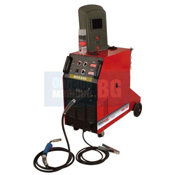Телоподаващ заваръчен апарат Holzmann  MSA315   / MIG/MAG/CO2 ,      50-315 A /