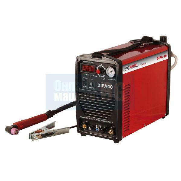 Инверторен апарат за плазмено рязане Holzmann DIPA40  / 20-40 A /