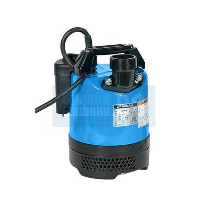 Потопяема дренажна помпа със датчик за ниво, песъчлива вода Tsurumi LB - 480 A/ 0.48 kW, напор 11 метра /