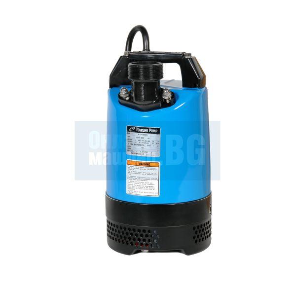 Потопяема дренажна помпа със датчик за ниво, песъчлива вода Tsurumi LB - 800 А / 0.75 kW, напор 15 метра /