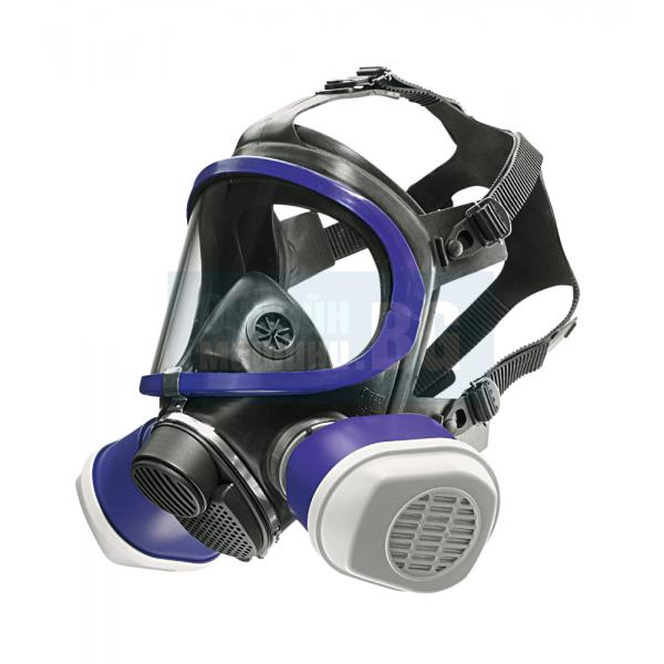 Предпазна маска цяла маска Дрегер Dräger X-plore® 5500 – EPDM / PC - с газови филтри A1B1E1K1 (химическа защита)