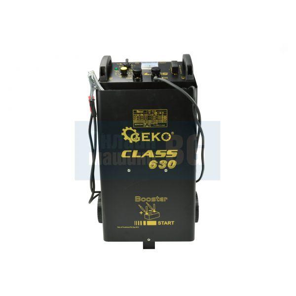 Зарядно стартерно устройство GEKO Class 630 10KW, 20-1550 Ah, 360A-600A стартиране, 70-90А зареждане